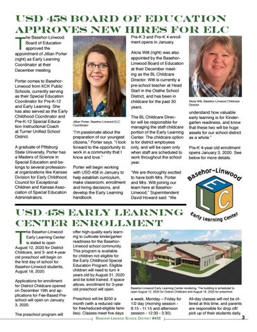 Page 3 of USD 458 BOE Approves BL Childcare Director