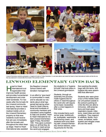 Page 5 of Linwood Elementary Gives Back