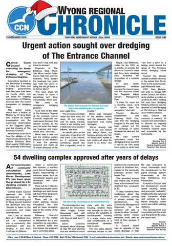 foto de Issue 180 of Wyong Regional Chronicle by Central Coast Newspapers ...