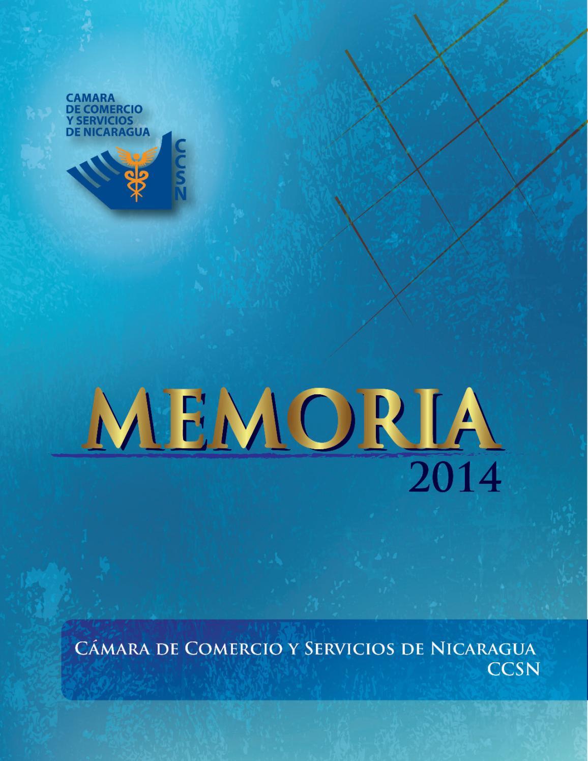Memoria Anual 2014 By Ccsn Issuu