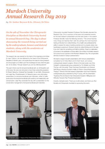 Page 14 of Murdoch University Annual Research Day 2019