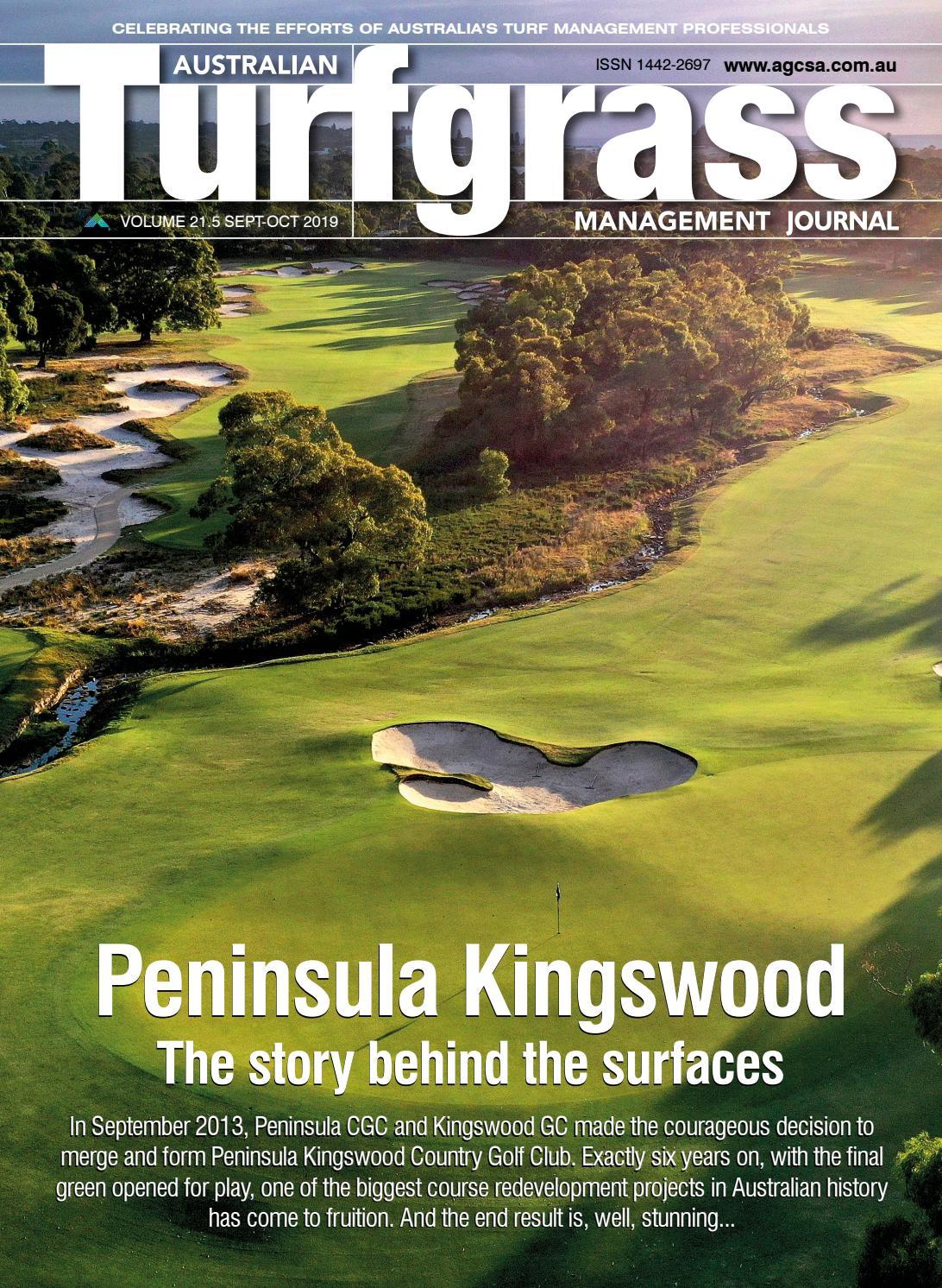 Australian Turfgrass Management Journal Volume 21 5 By Agcsa Issuu