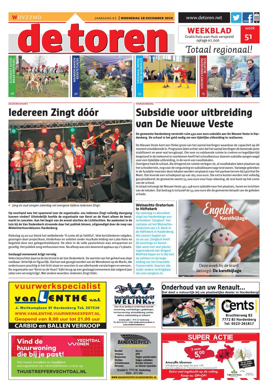 Weekblad De Toren Week 51 2019 By Weekblad De Toren Issuu