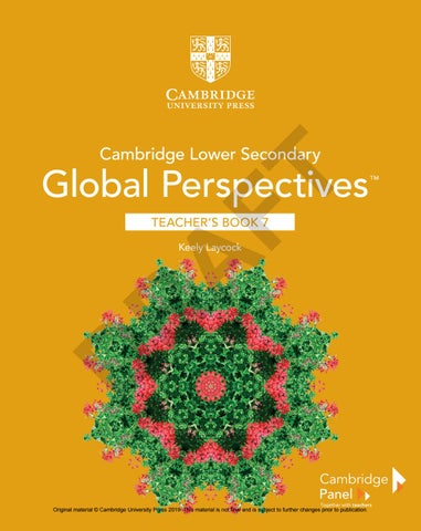 Cambridge Lower Secondary Global Perspectives Stage 7 Teacher S Book Sample By Cambridge University Press Education Issuu
