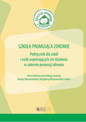 Szkoła Promująca Zdrowie Wydanie Drugie Poprawione By