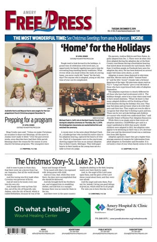 Transparent Productions Presents Mac Powells Christmas Party 2020, December 14 Amery Free Press December 17, 2019 by Amery Free Press   issuu