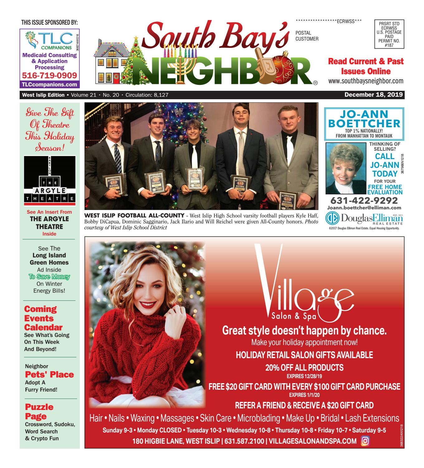 December 18 2019 West Islip By South Bay S Neighbor Newspapers Images, Photos, Reviews