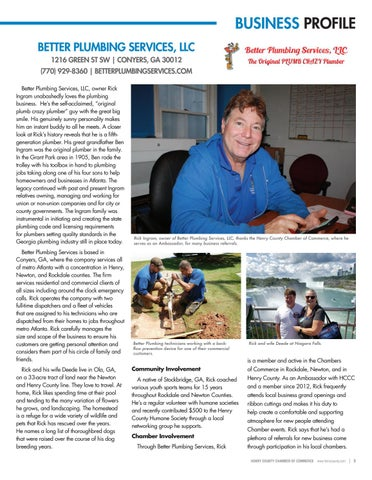 Page 5 of Business Profile: Better Plumbing Services, LLC