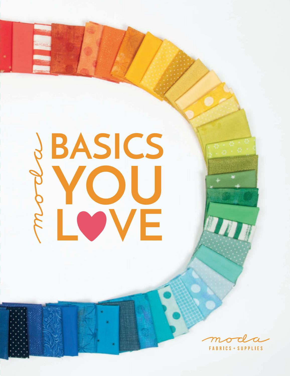 Natural Moda Fabric 100/% Cotton Bella Solids Multiple Sizes