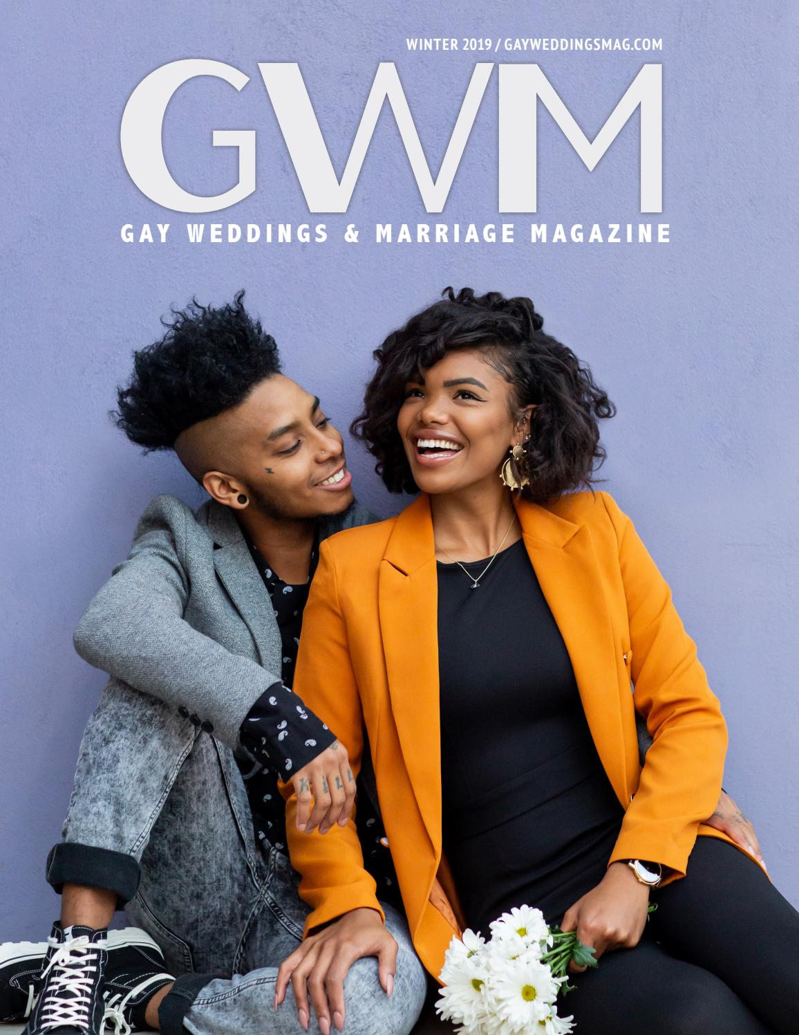 Gay Weddings And Marriage Magazine Winter 2019 By Gay Weddings And