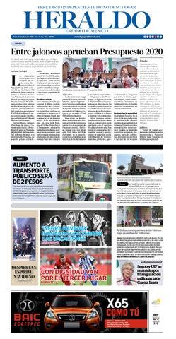 Jueves 19 de Diciembre del 2019 by Heraldo Estado de México - issuu