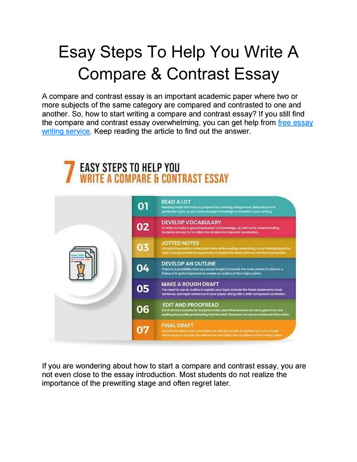 Help with essay writing free steps to write a research paper