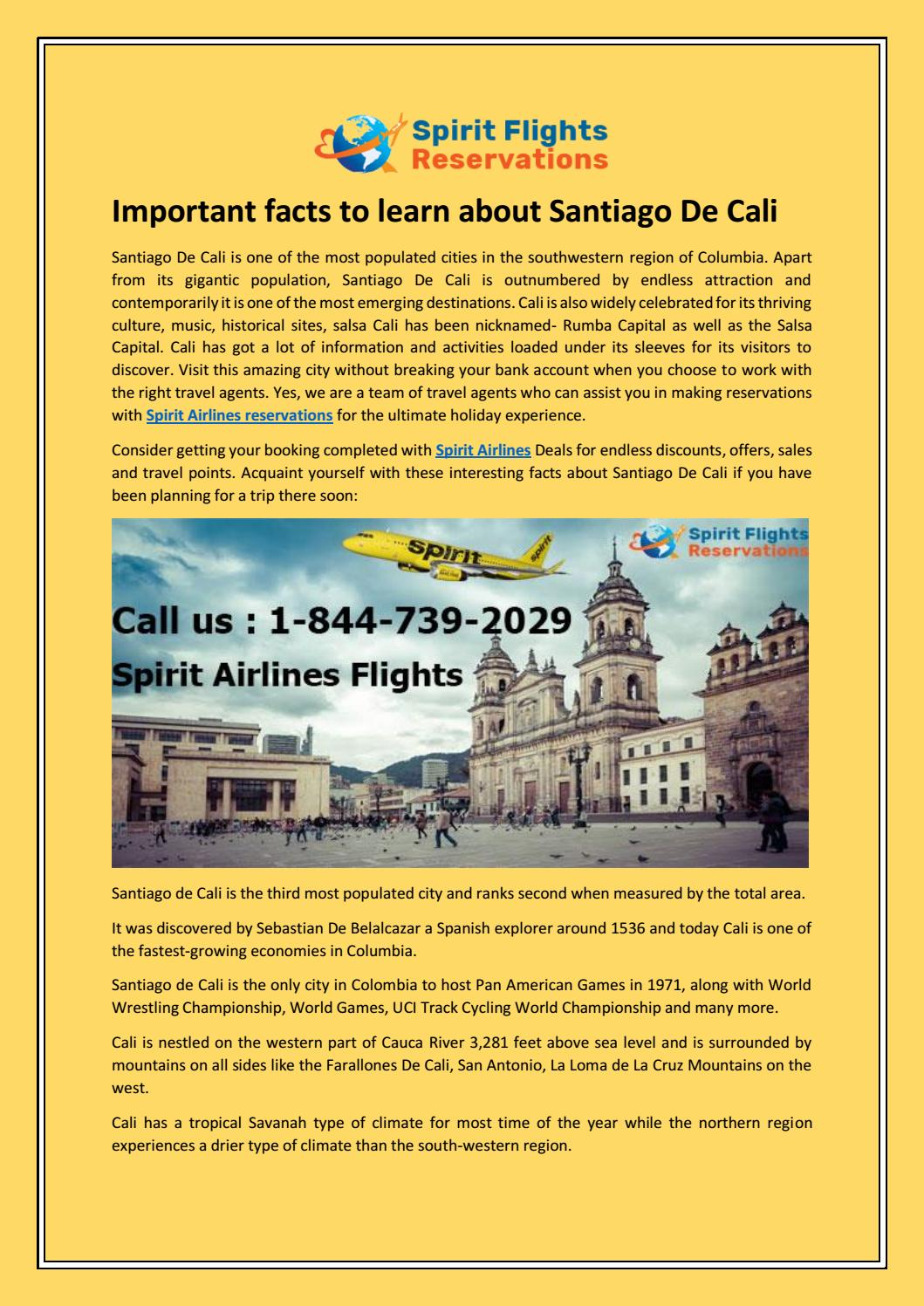 Important Facts To Learn About Santiago De Cali By Spiritflights Issuu