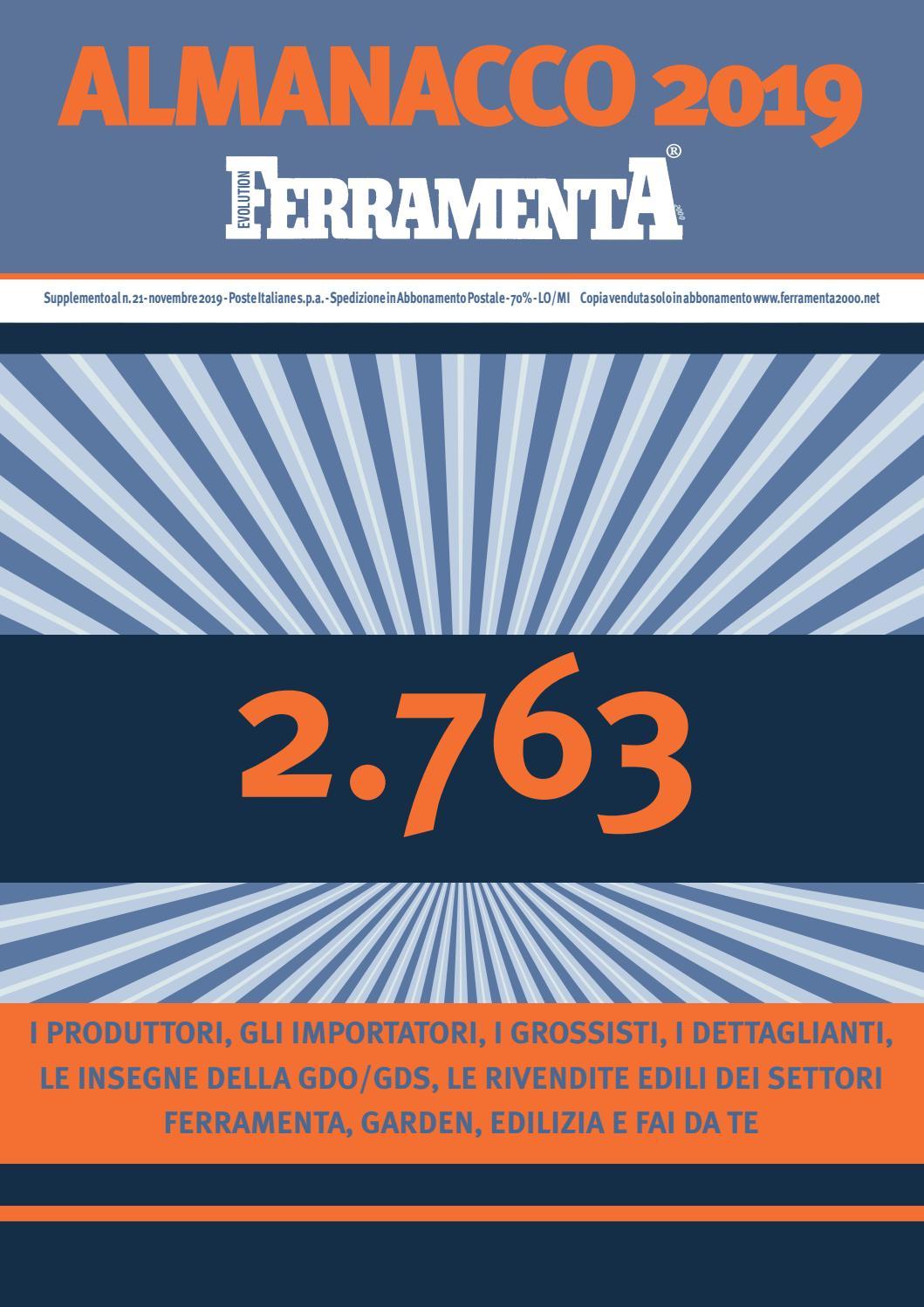 Alfa Edil Firenze Srl almanacco 2019 by ferramenta 2000 ev. by e.t. edizioni