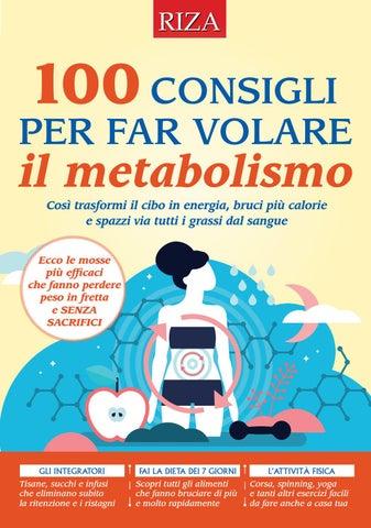 metabolico per ridurre rapidamente il grasso