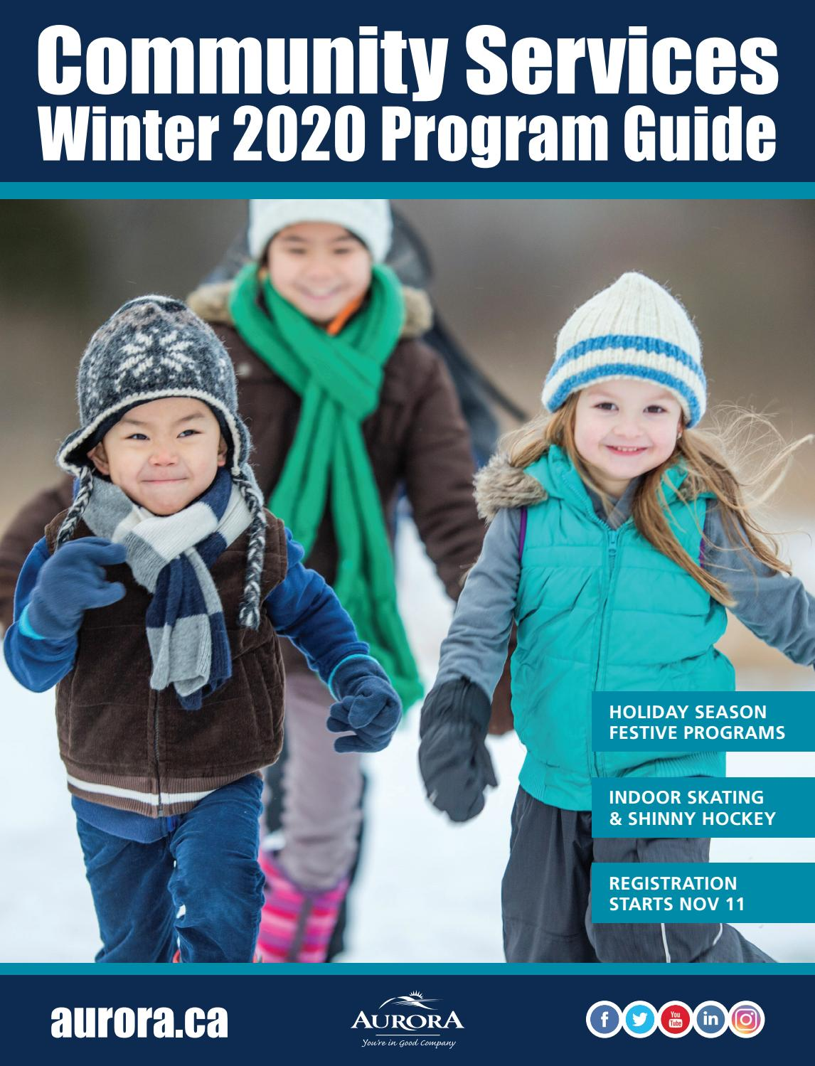 Christmas Craft Event Ontario Ambulance 2020 Community Services Winter 2020 Program Guide by Town of Aurora   issuu