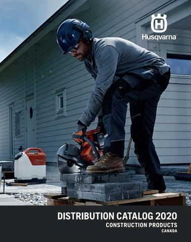 Ca 2020 Distrbution Catalog By Husqvarna Construction Products Issuu