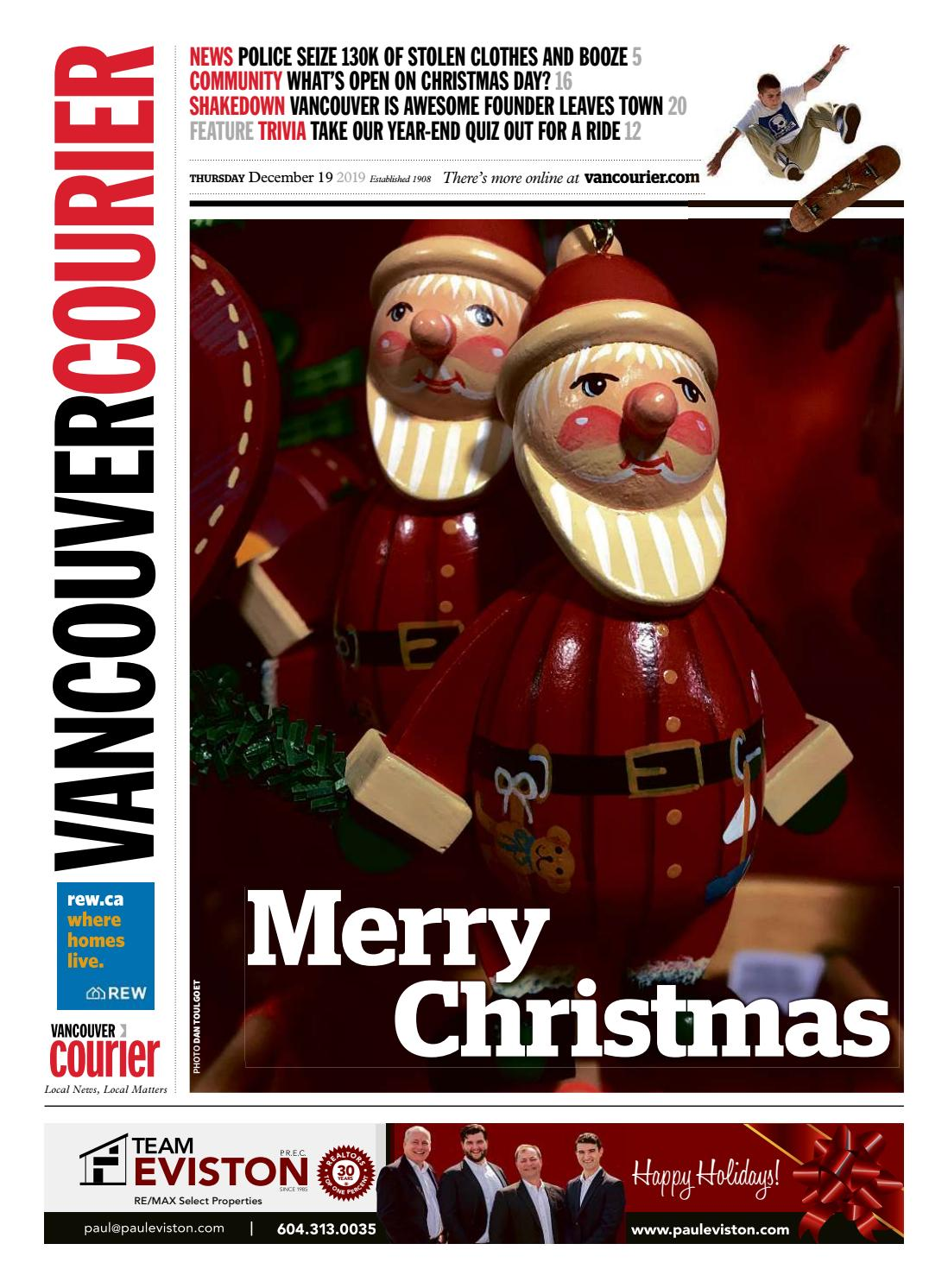 Vancouver Courier December 19 2019 by Vancouver Courier   issuu