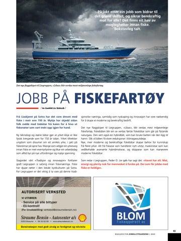 Page 41 of JOBB PÅ FISKEFARTØY