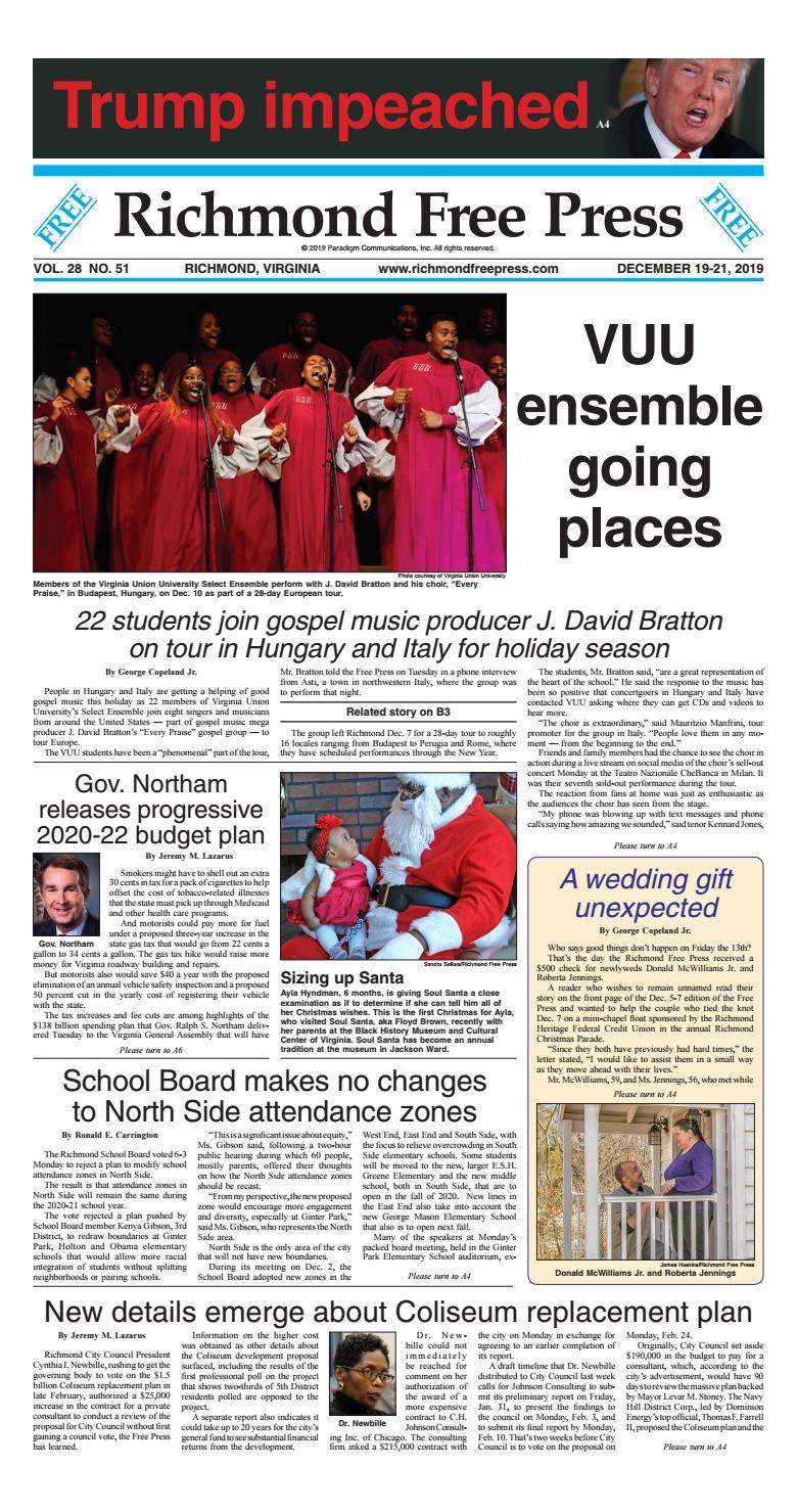 Richmond Free Press December 19 21 2019 edition by Richmond