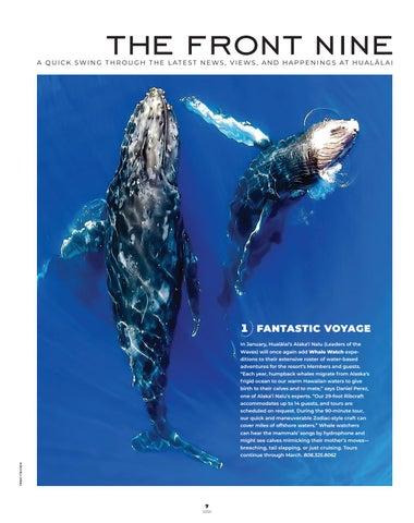 Page 9 of Hualālai Magazine ~ Winter/Spring 2020