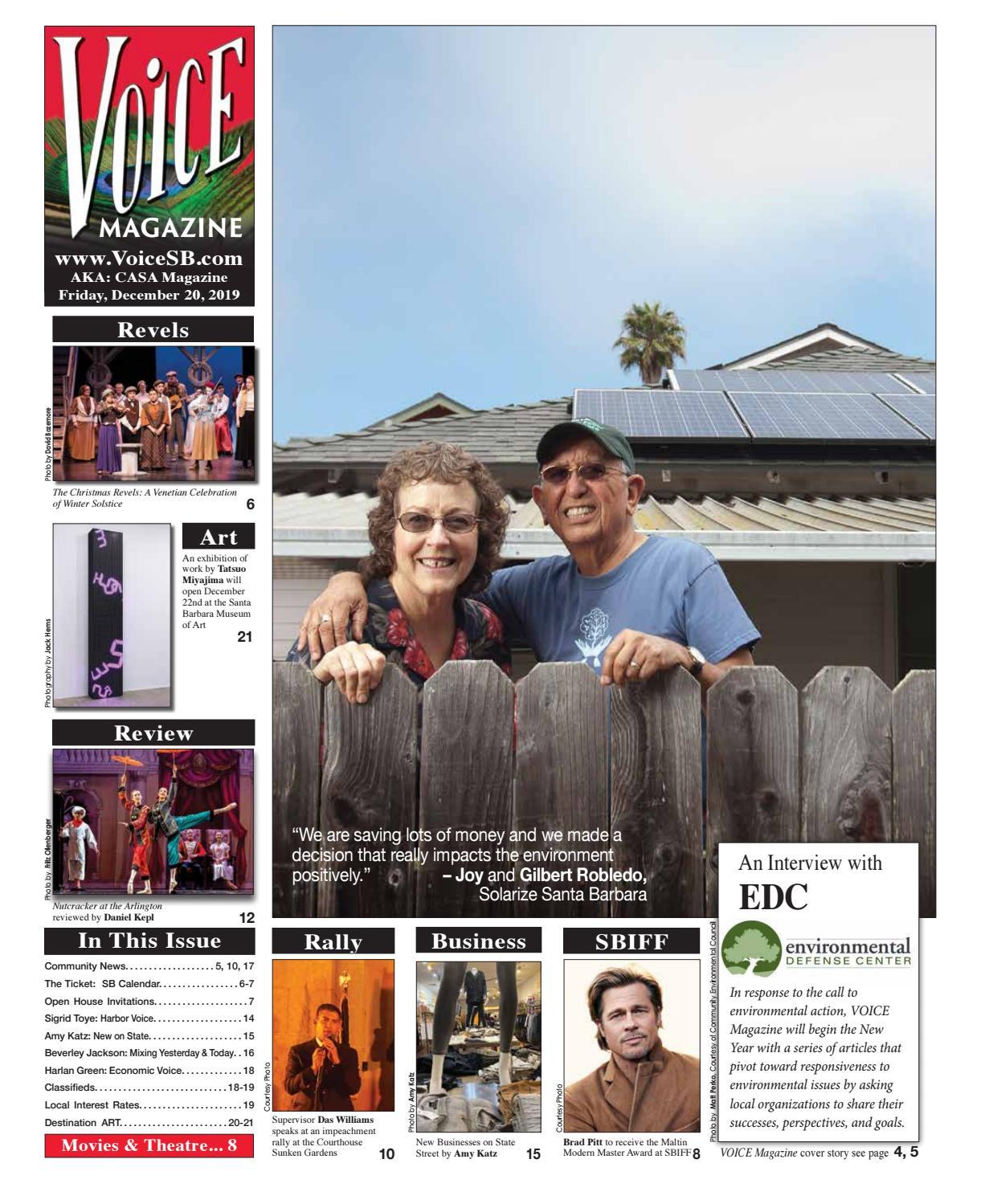 Voice Magazine December 20 2019 By Voice Magazine Casa