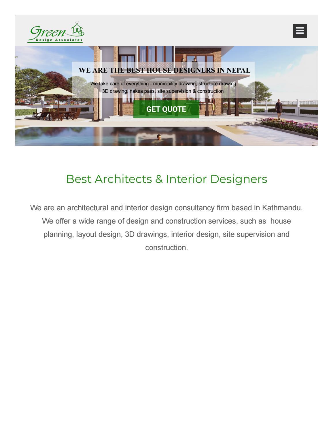 Green Design Nepal By Znos Shrestha Issuu