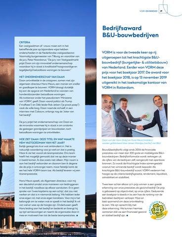 Page 31 of Daan van der VORM is Vastgoedman 2019