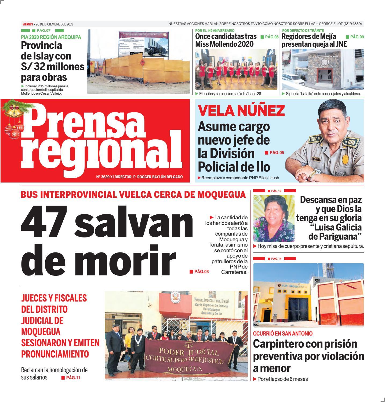 Prensa Regional 20122019 By Diario Prensa Regional Issuu