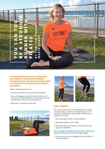 Page 24 of YOU CAN TOO BE A STRONGER RUNNER WITH PILATES