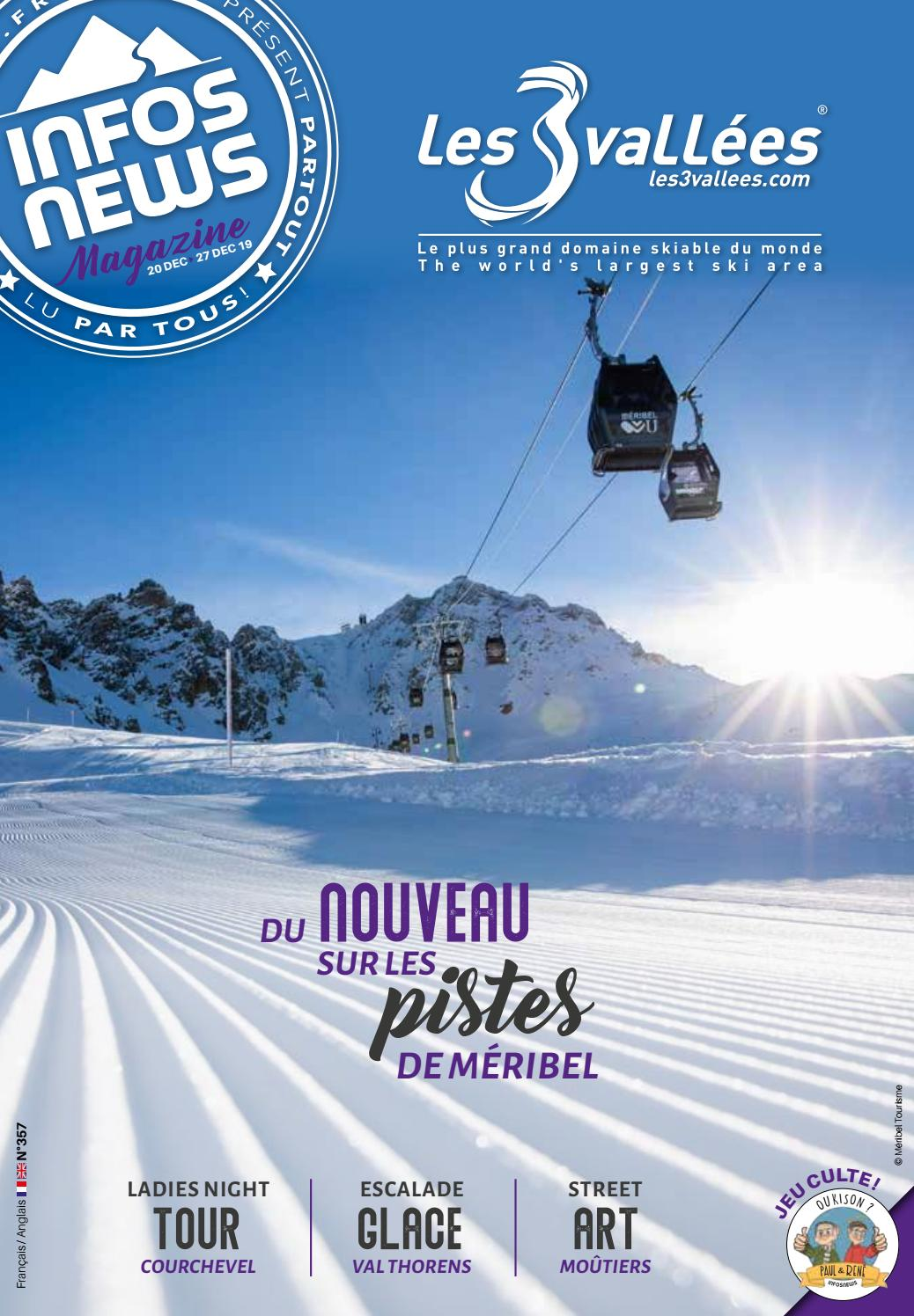Les 3 Vallées Infosnews n°357 by Magazine INFOSNEWS issuu