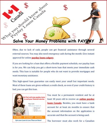 pay day advance lending products on the net