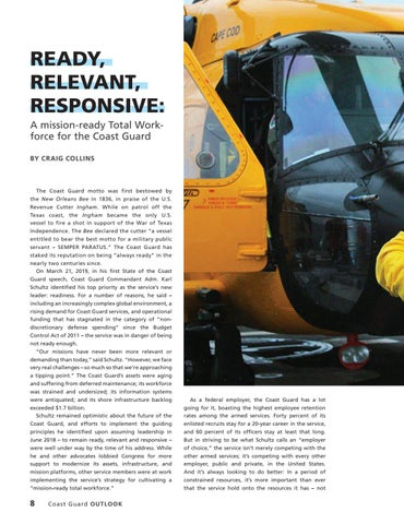 Page 12 of A mission-ready Total Workforce for the Coast Guard
