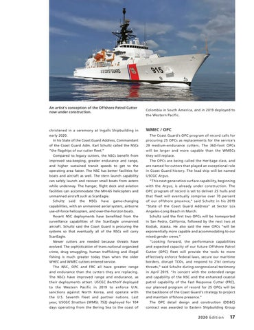Page 21 of COAST GUARD IS OVERHAULING WHITE, RED AND BLACK HULL FLEETS