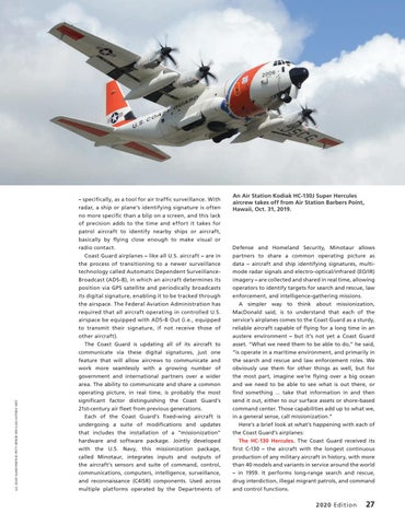 Page 31 of THE COAST GUARD AIR FLEET