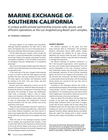 Page 46 of MARINE EXCHANGE OF SOUTHERN CALIFORNIA