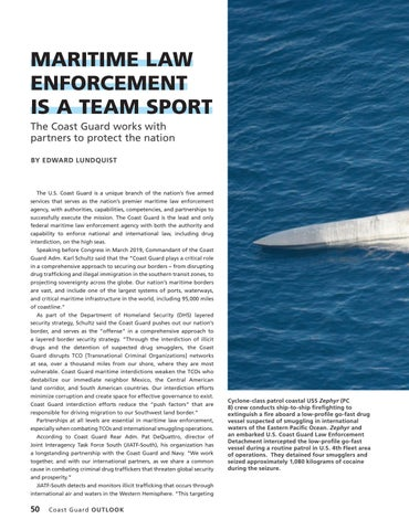 Page 54 of MARITIME LAW ENFORCEMENT IS A TEAM SPORT