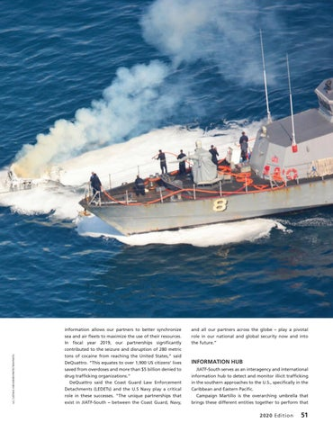 Page 55 of MARITIME LAW ENFORCEMENT IS A TEAM SPORT