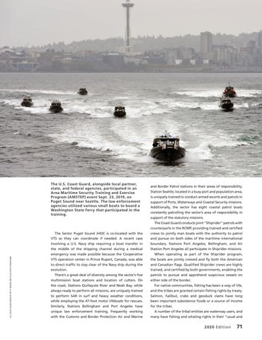 Page 75 of SECTOR PUGET SOUND: A CASE STUDY IN COAST GUARD PARTNERSHIPS