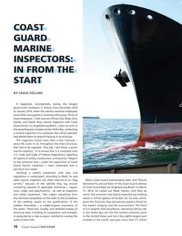 Page 80 of COAST GUARD MARINE INSPECTORS: IN FROM THE START