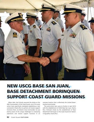 Page 86 of NEW USCG BASE SAN JUAN, BASE DETACHMENT BORINQUEN SUPPORT COAST GUARD MISSIONS