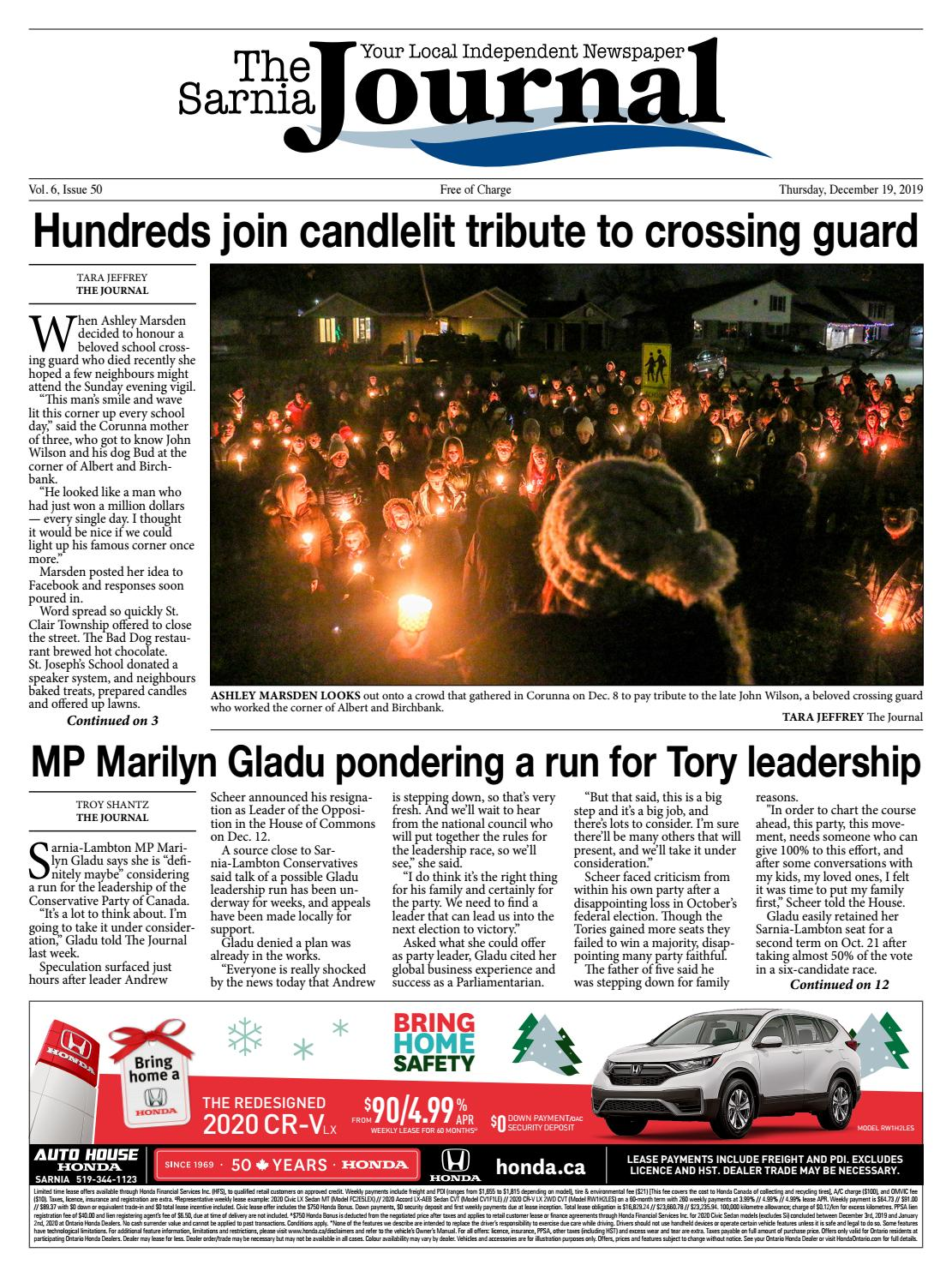 The Sarnia Journal Thursday December 19 2019 By The Sarnia Journal Issuu