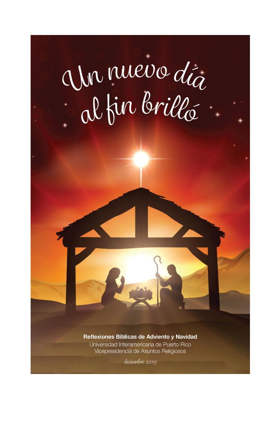 Reflexiones De Adviento Y Navidad 2019 2020 By