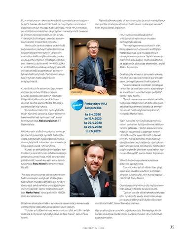 Page 35 of Perheyrityslehti 4/2019