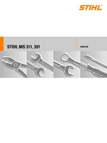 Stihl Ms 391 Chainsaw Service Repair Manual By S3ju6m92 Issuu