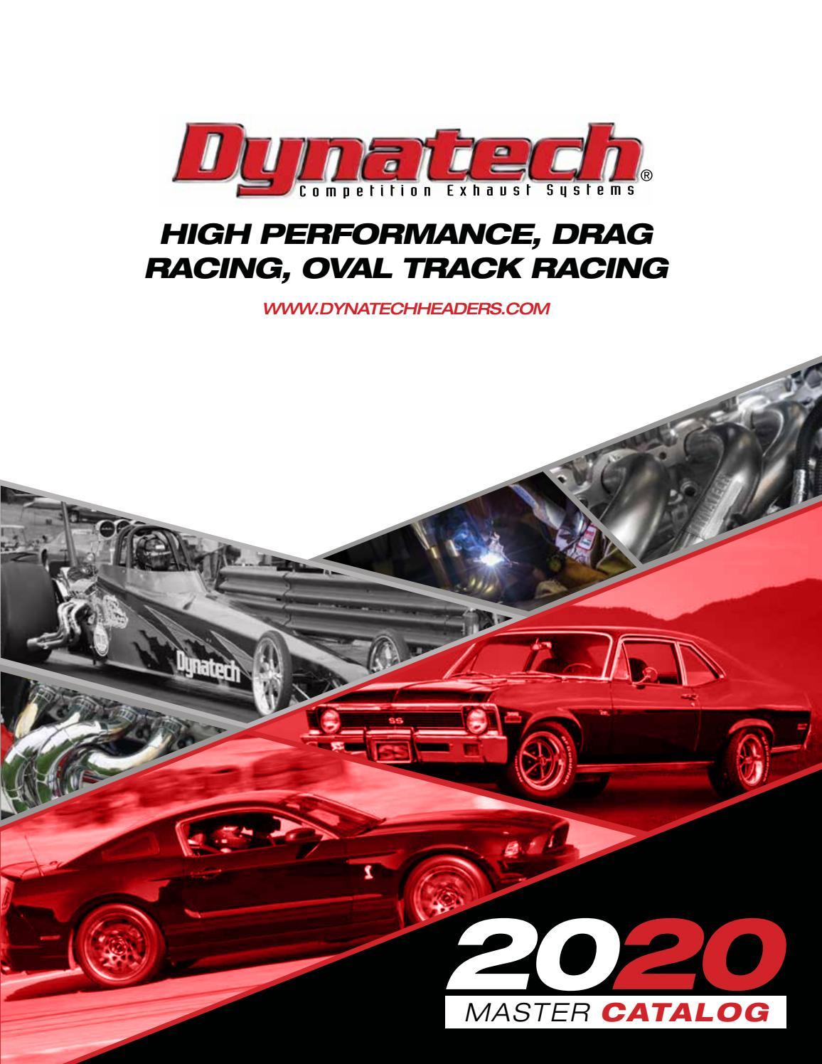 Dynatech 794-50001 B//B Fits Chevy Fiber Exhaust Header Gaskets