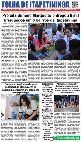 Folha de Itapetininga 19/12/2019 (Quinta-feira)