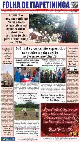 Folha de Itapetininga 21/12/2019 (Sabado)