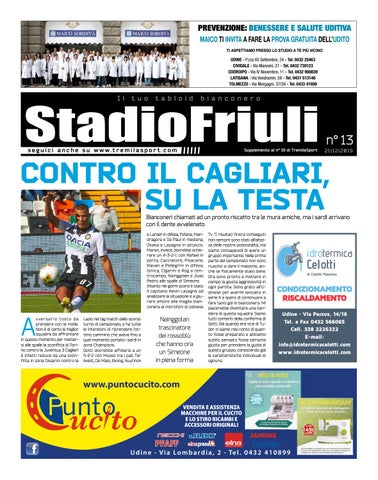 Stadio Friuli 21 12 2019 By Tremilasport Issuu