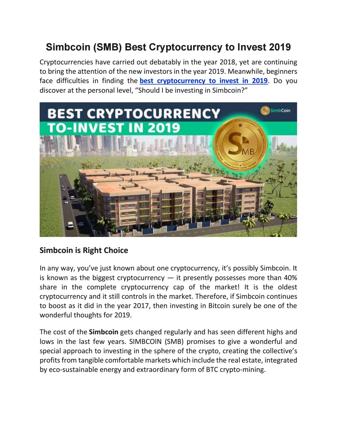 best cryptocurrency new